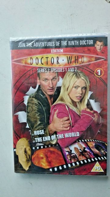 Doctor Who Series 1 Episodes 1 & 2  DVD  Christopher Eccleston  NEW and SEALED